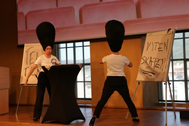 Teatervitskap Siri Jøntveit Snelle Hall Performance